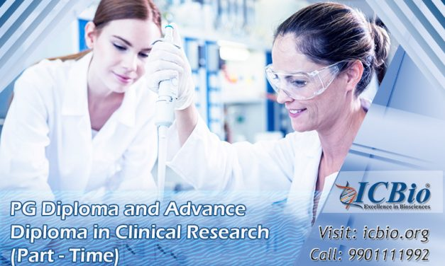 PG Diploma and Advance Diploma in Clinical Research (Part-Time)