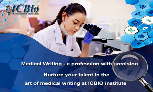 Medical Writing at ICBIO institute – A lucrative Career for Bpharma/Mpharma/Pharm D/Bsc Nursing/Msc Nursing /BDS/MBBS students